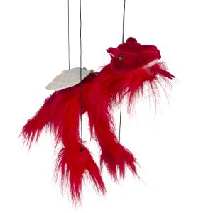 Sunny toys 16'' Baby Red Dragon Marionette