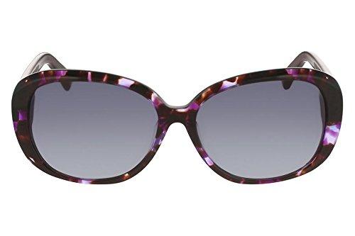 Óculos De Sol Nine West Nw567S 518/56 Tartaruga Roxo