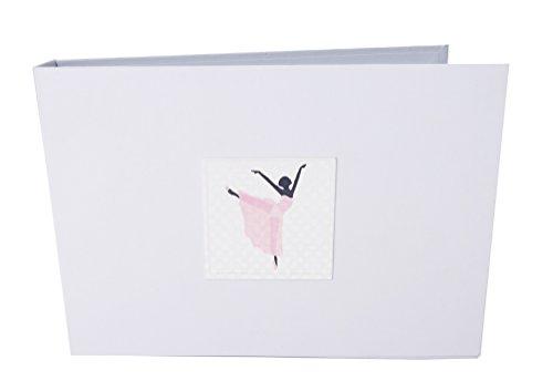 - WHITE COTTON CARDS Ballerina Tiny Value Photo Album, Ballet, White, 17.5 x 2.5 x 12.5 cm