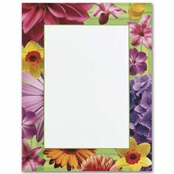 Masterpiece Flowers Letterhead - 8.5 x 11 - 25 Sheets ()