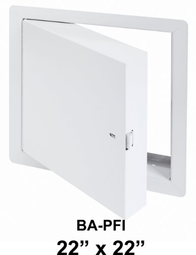22'' x 22'' - Fire Rated Insulated Access Door with Flange by Best Access Doors