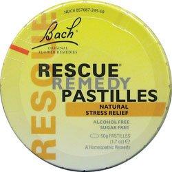 BACH RESCUE REMEDY,PASTILLE, 12/50 GRM by Bach