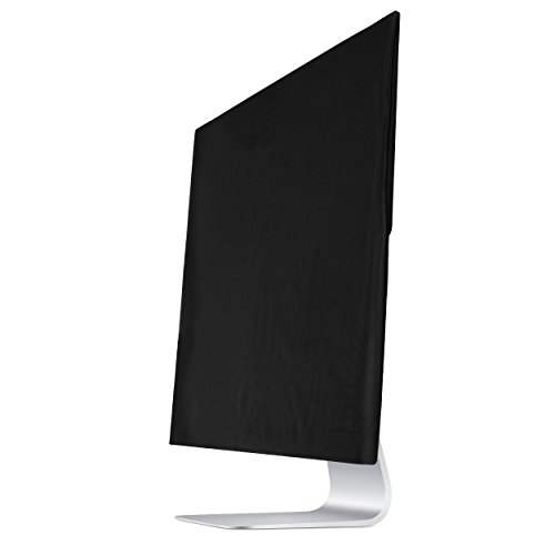 Premium Protective Dust Screen Cover Sleeve with Inner Soft Lining for Apple iMac (21.5 Inch, Black)
