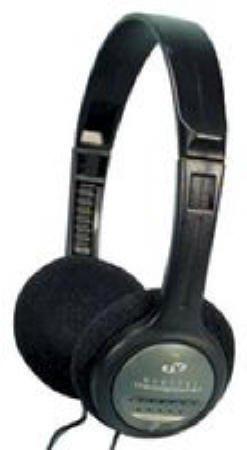 Uni Tone Mini Stereo/Mono Headphones, Frequency Response: 20 Hz-20 Khz, SPL: 102 dB at 1 Khz, Impedance: 32 Ohm, Includes: 3.5 m