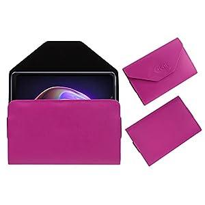 Acm Premium Flip Flap Case Compatible with Vivo V21 Mobile Pouch Leather Cover Pink