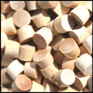 WIDGETCO 5/16'' Maple Wood Plugs, End Grain(QTY 5,000)