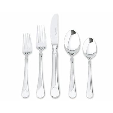 Zwilling JA Henckels 22748-345 Provence 45-Piece 18/10  Stainless Steel Flatware Set, Silver