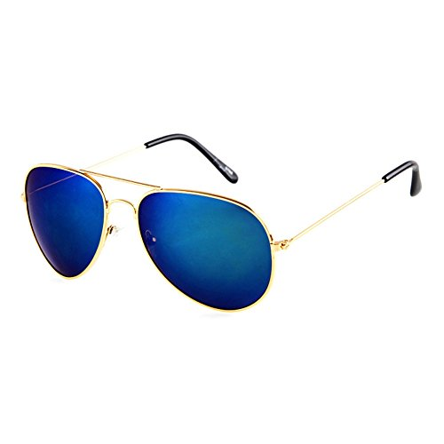 Blue Sunshine Unisex Reflective Fashion Poiarized Driving Aviator - Shopping Aviator Sunglasses Online