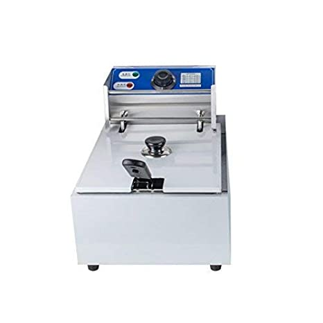 Amazon.com: 5000 W 16l eléctrico Countertop freidora doble ...