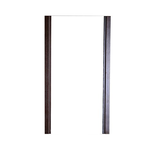 Bellaterra Home Wood Frame Mirror, Finished in Wenge Color
