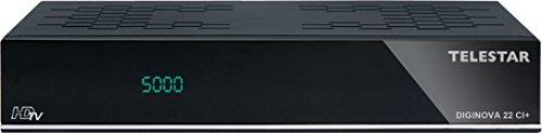 Telestar 5310442 Diginova 22 Satelliten-Receiver (CI+, DVB-S/T, HDTV, HDMI, USB 2.0) schwarz