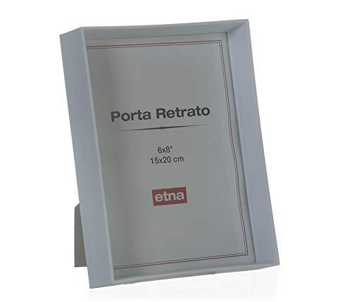 Porta Retrato Madeira Etna Branco