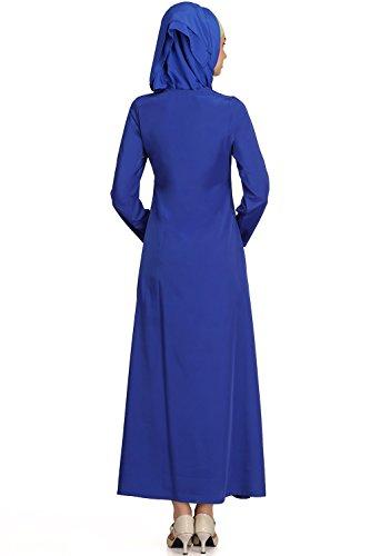 Grün MyBatua Blau Burka Muslim amp; Abaya Kaftan Maxikleid 599 AY Jilbab qEUExRT