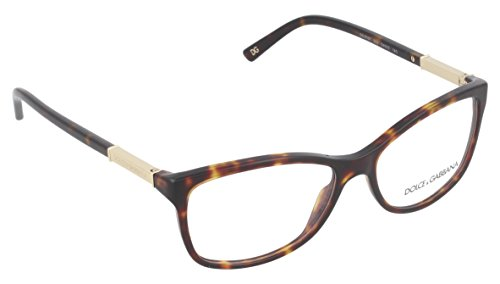 DOLCE&GABBANA D&G DG Eyeglasses DG 3107 HAVANA 502 DG3107 by Dolce & Gabbana