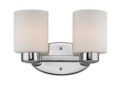 - Dolan Designs 3432-26 2Lt Bath Chrome Brookings 2 Light Bathroom Fixture