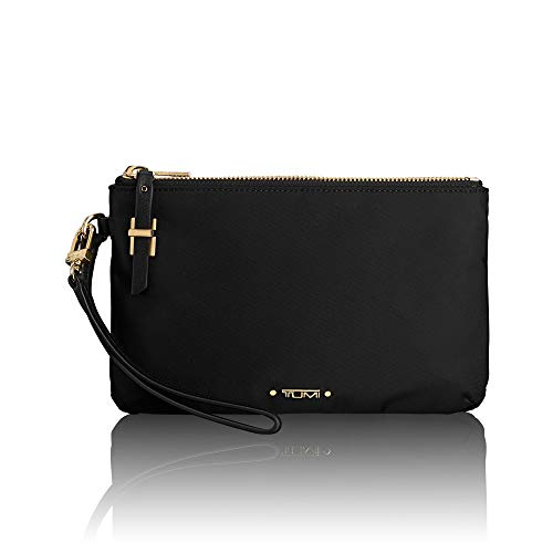 TUMI - Voyageur Abilene Double Zip Pouch - Clutch Wristlet Wallet for Women - Black
