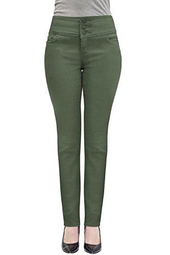 Elastici Donne Oliva Comodi V Company Per Hybrid Jeans amp; xIvz4qqg