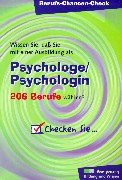 Berufs-Chancen-Check, Psychologe/Psychologin