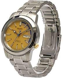 Seiko 5 Automatic SNKK29J1Mens Gold Business Automatic Seiko Japan