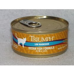 Triumph Adult Can Cat Food Case 5.5oz Oceanfish, My Pet Supplies