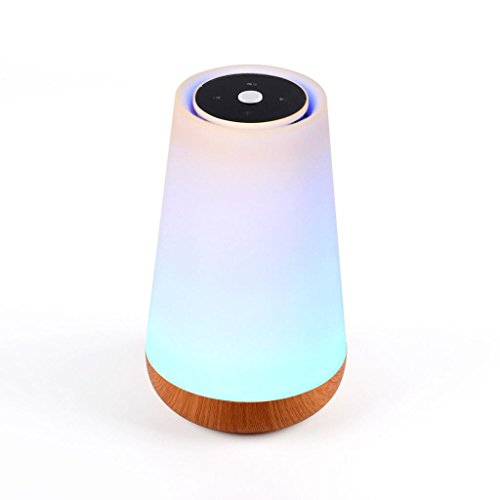 Jili Online Dimmable Light with Bluetooth 4.0 Speaker Alarm Clock Touch Lamp Smart Wireless Bluetooth Stereo Speaker by Jili Online