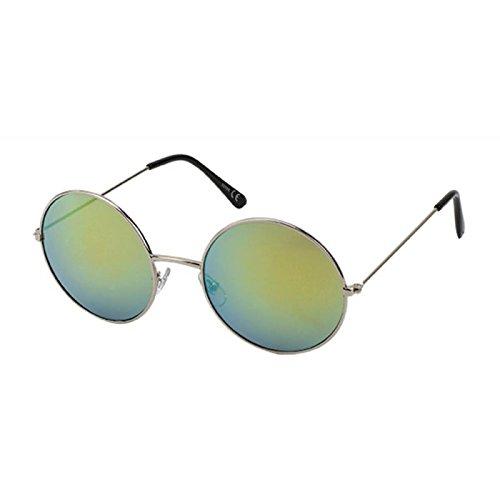 Chic-Net Gafas de sol redondo grande gafas a lo John Lennon ...