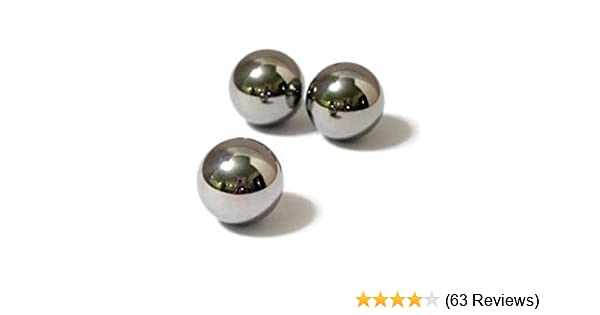 12 Replacement Steel Spacerail Balls