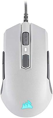 Mouse Gamer Corsair M55 RGB PRO Multi-Grip com design Ambidestro Branco - CH-9308111-NA