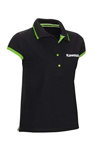 Kawasaki Deporte Mujer Camisa Polo Negro - XL / 2XL: Amazon.es ...