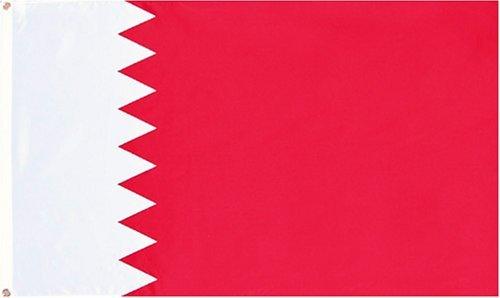 Bahrain Flag 3ftx5ft Polyester
