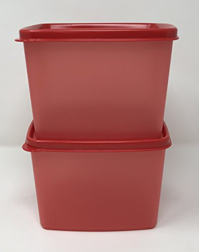 Tupperware Freeze-It Plus Set of 2 in Red