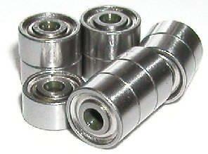 10 Bearing 688ZZ 8x16 Shielded 8x16x5 Miniature Ball Bearings VXB Brand ()