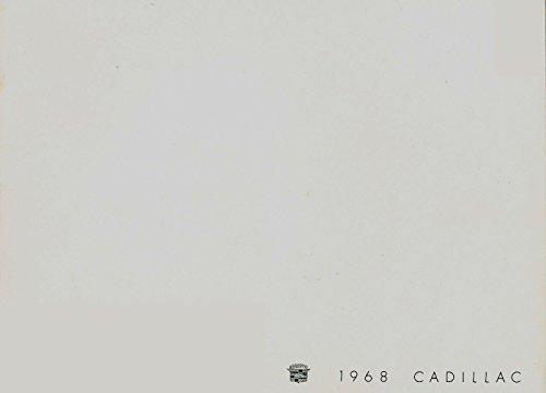 1968 Cadillac 24-page Original Car Sales Brochure Catalog - Fleetwood Eldorado