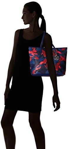 patriot Blau 9220286a714 Donna 31735 Blue Shopper Jeans Borsa Armani YqFw4F