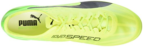 Puma Evospeed 17 Sl Fg, Botas de Fútbol para Hombre Amarillo (Safety Yellow-puma Black-green Gecko 01)