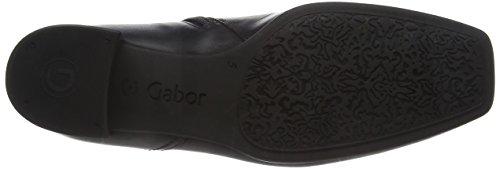 Boots Black Black Fashion Leather Women's 639 31 Gabor TSW6fqRW