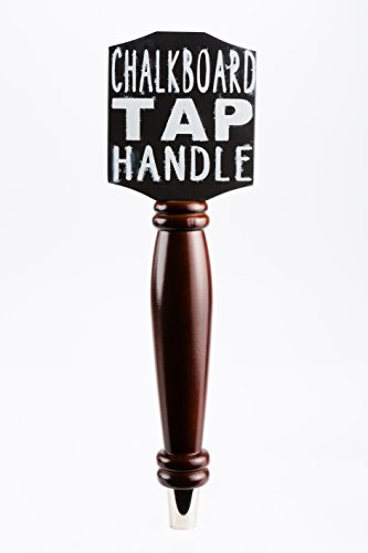 - Chalkboard Tap Handle For The Draft Beer Lover's Kegerator or Bar (Dark)