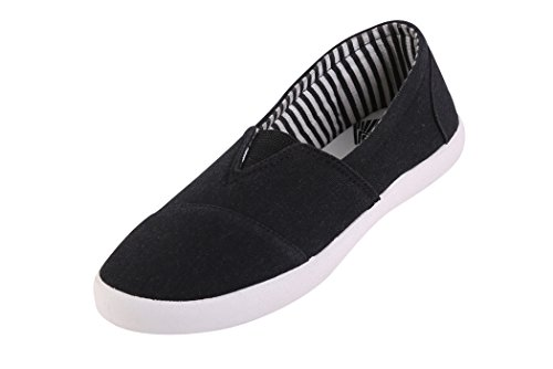 Globalite Women's Casual Shoes Fighter Black White GSC1136