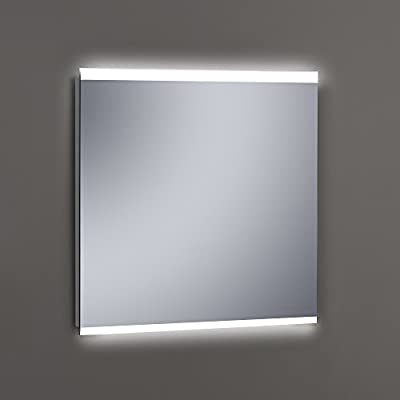 Kristaled Maná Led 80x80 cm Espejo de Baño Arenado con Luz ...