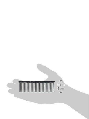 Chris Christensen Buttercomb Fine Comb, 4.5''