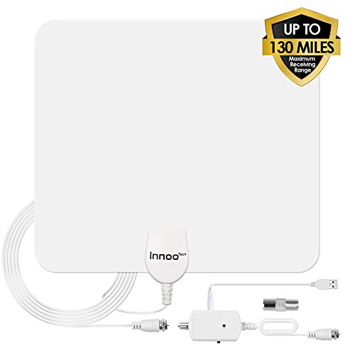 Innoo Tech TV Antenna - HD Antenna Support 4K 1080P