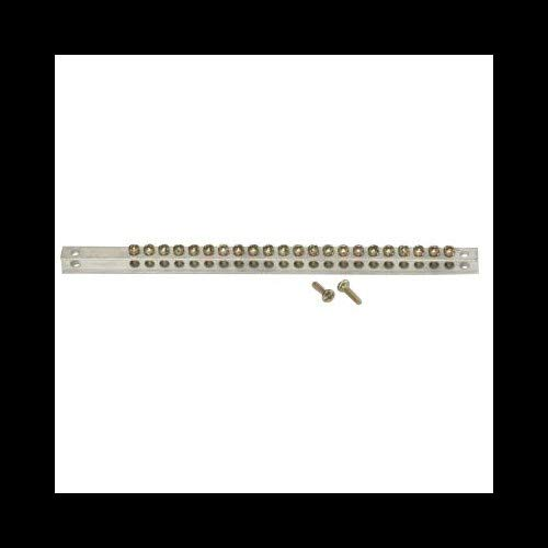 Center Load Bar - GE TGK32 32 Hole Load Center Ground Bar Kit For Use With PowerMark Gold and Plus Load Centers