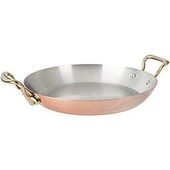 13.7 Bronze Handle Mauviel 6737.35 MHeritage M150B Copper Paella Pan
