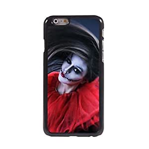 PEACH Woman Ghost Pattern Aluminum Hard Case for iPhone 6 Plus