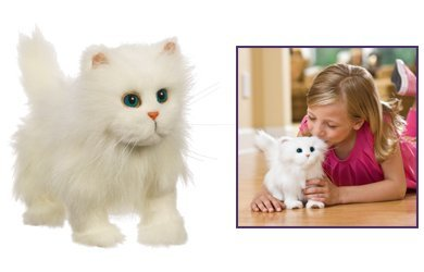 Furreal Walking Kitty White from Hasbro
