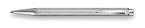 Caran D' Ache Retro Ecridor Rhodium Ballpoint Pen, Silver (0890.487) by Caran D'ache