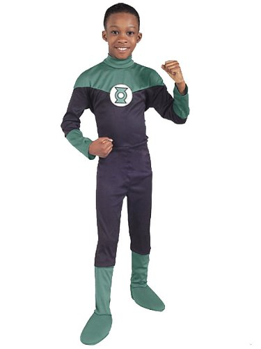 Green Lantern Child Costume - Medium