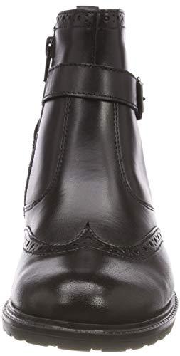 Bottines 7 black Femme Uni Noir Tamaris 25004 21 axnECZgxBq