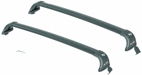 (ROLA 59736 Removable Mount GTX Series Roof Rack for Volkswagen GTI/Golf 2-Door and 4-Door - Black)