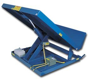 Vestil Mfg. Co., Ergonomic Box Tipper - Cap 6K #, Ergo-Bxtp-B-6K, Platform Size W X L: 54 X 48'', Wt. (Lbs.): 950, Power Unit: Internal, Cap. (Lbs.): 6000, Uni-5448-6